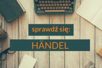 Händel – utrwalenie wiadomości