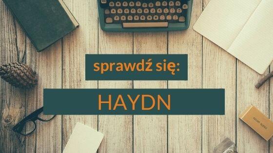 Haydn- utrwalenie wiadomości