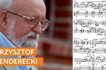Kim był Krzysztof Penderecki?